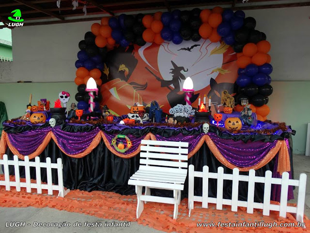 Decoração festa Halloween - Tradicional luxo