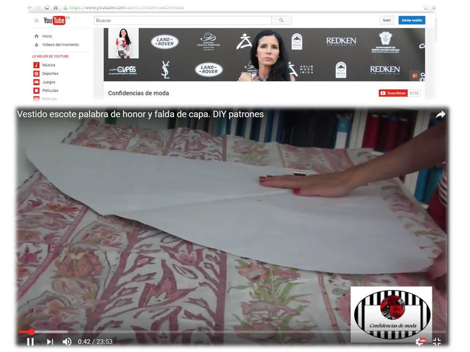 14d7957dbd Más adelante os grabaré otro tutorial con el montaje del vestido para que  comprobéis lo sencillo que es y os animéis a hacerlo.