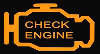 أسباب اضاءة لمبة فحص المحرك  Check Engine