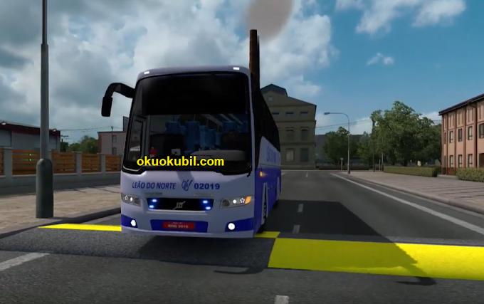 ETS2 1.35 Volvo B9R 4x2 Gerçek Ses Otobüs Modu İndir Temmuz 2019