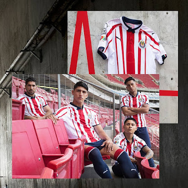 new products b56f7 5ec27 Chivas 2018-19 Home & Away Kits Released - Footy Headlines