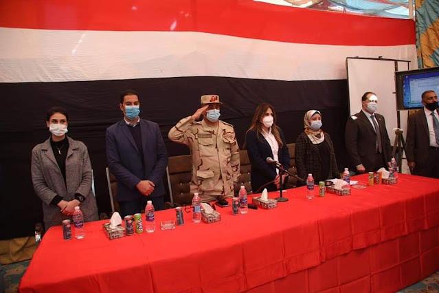 إجتماع المشروع القومى لتطوير قرى الريف المصرى بمركز الوقف بقنا