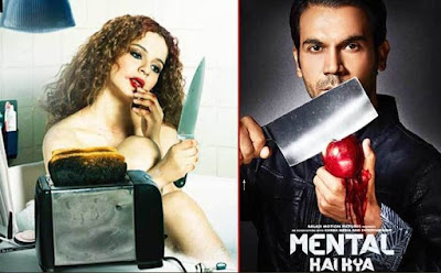 Mental Hai Kya Movie First Look, Mental Hai Kya Poster
