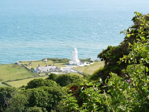 St Catherine's Lighthouse on the Isle of Wight