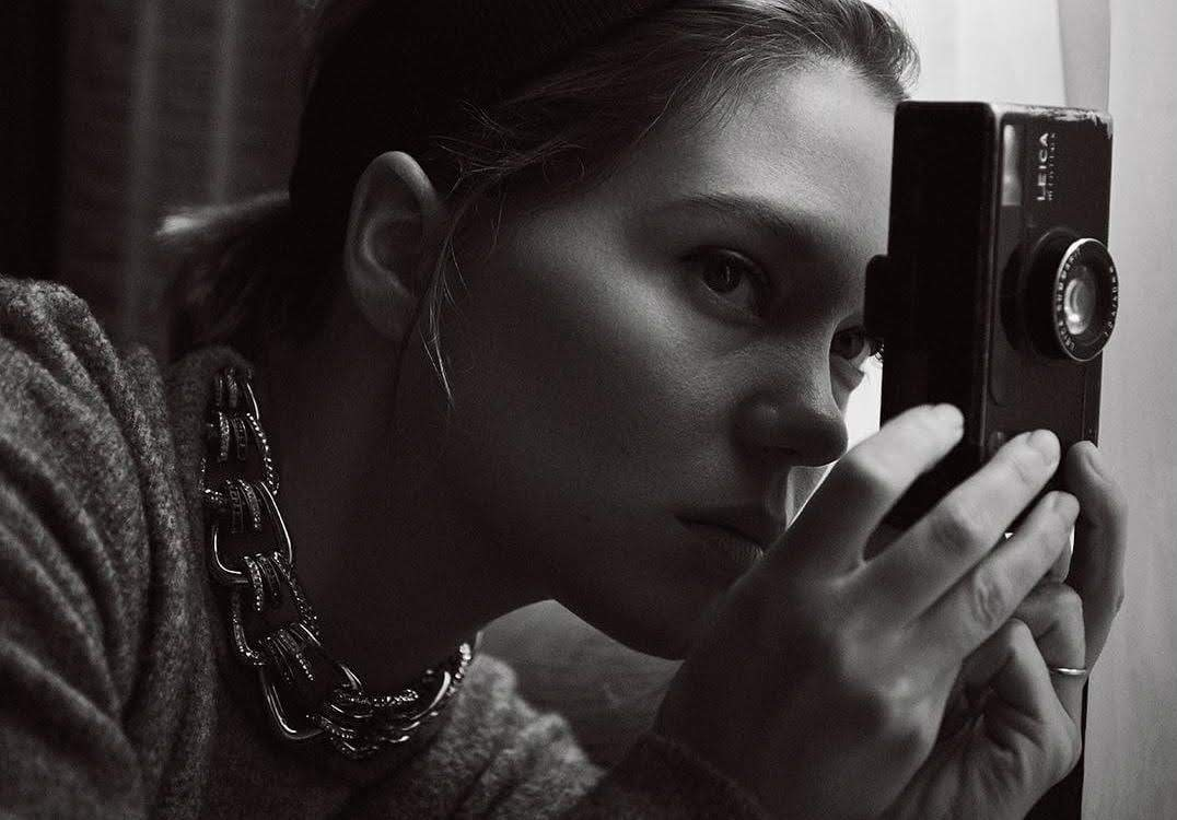 Léa Seydoux on T Magazine China : 中国版 T Magazine のレア・セドゥ