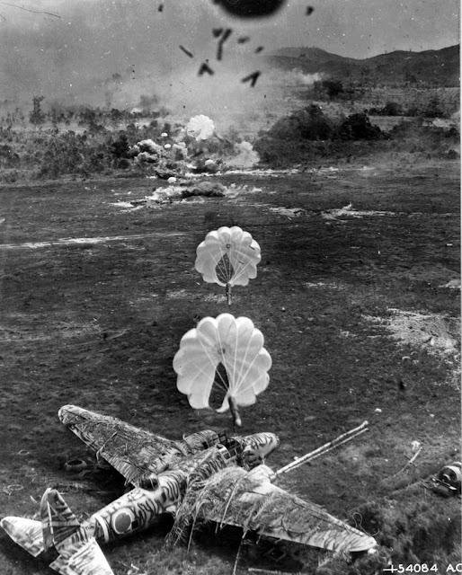 Japanese Ki-21 aircraft Perfectly Timed Photo worldwartwo.filminspector.com