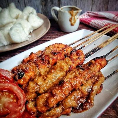 Sate Ayam Bumbu Kacang - Resep Olahan Ayam