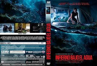 INFIERNO BAJO EL AGUA-CRAWL 2019 [COVER DVD+BLU-RAY]