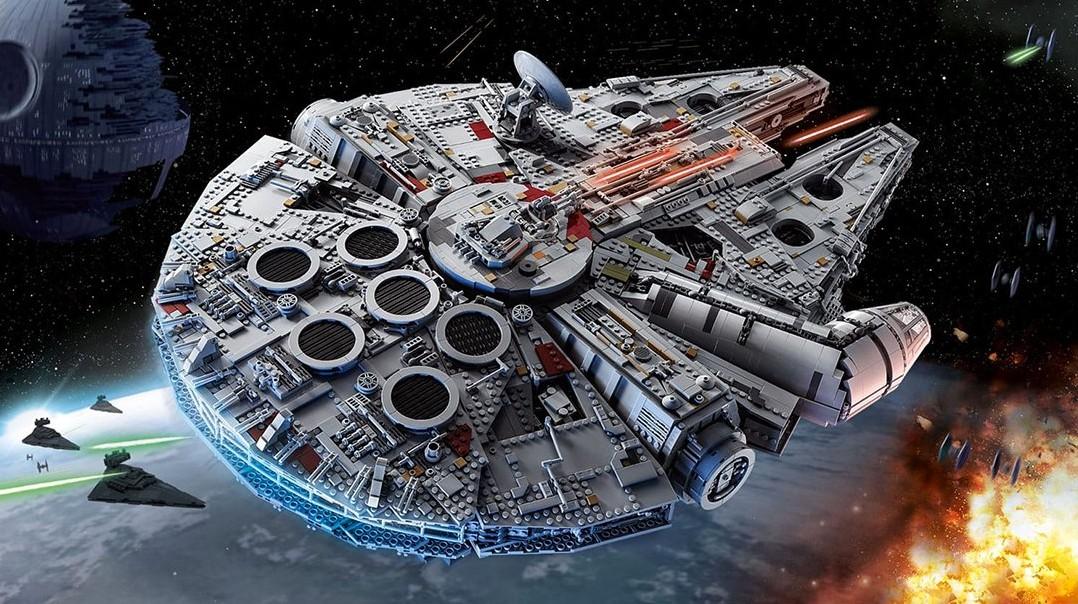Google Maps scopre l'astronave Millennium Falcon di Guerre Stellari