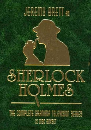 Jeremy Brett as Sherlock Holmes - the complete DVD set