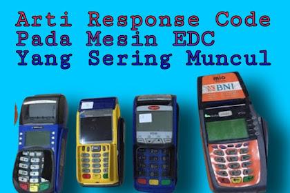 100 Kode Error Mesin EDC Agen46 BNI Yang Sering Muncul