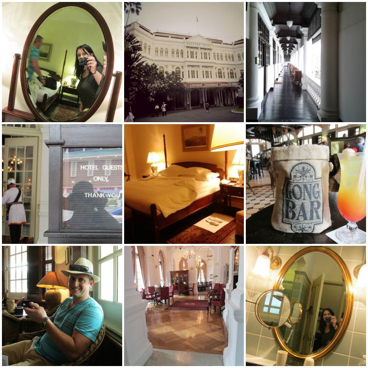 Amazing Luxurious famous Raffles Hotel in Singapore