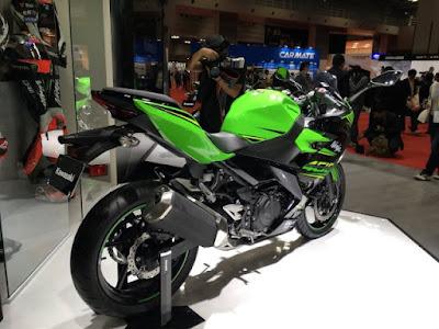 New Ninja 250 World Premiere di Tokyo Motor Show 2017