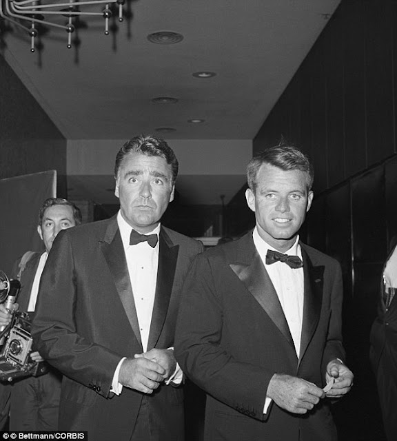 Peter Lawford and Robert Kennedy