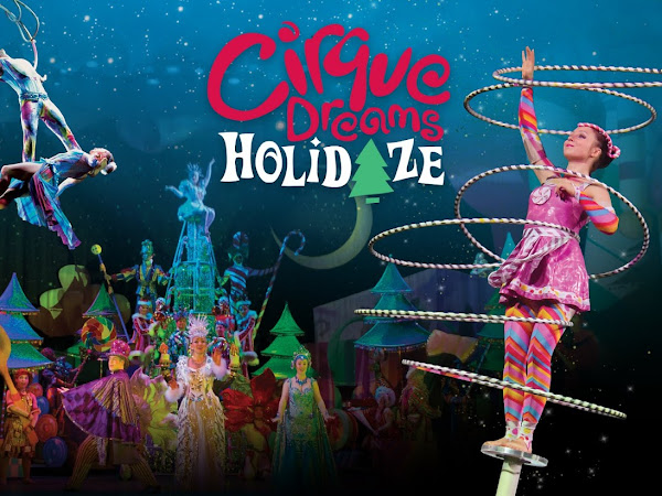Coming to Detroit: Cirque Dreams Holidaze + Giveaway CLOSED