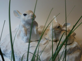 fantasy and animal sculptures