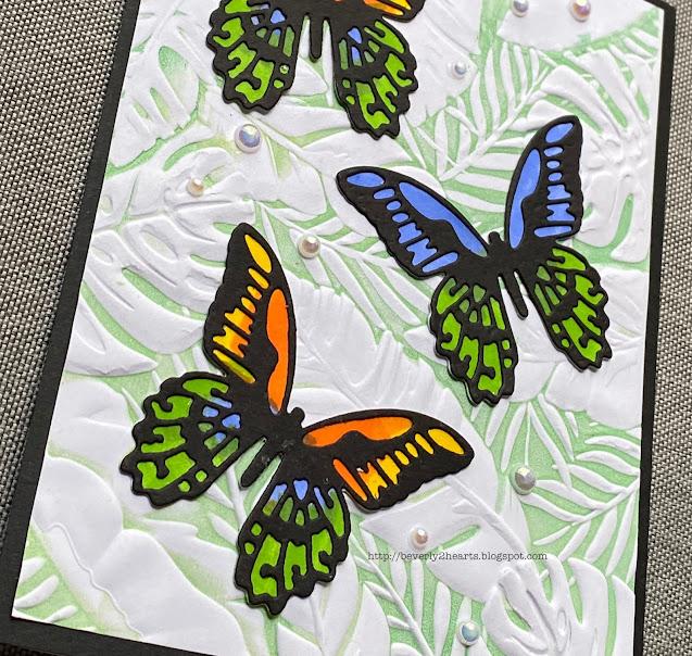 Mini Detailed Butterflies