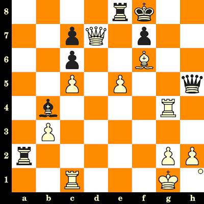 Les Blancs jouent et matent en 3 coups - Adolf Georg Olland vs Max Euwe, Utrecht, 1921