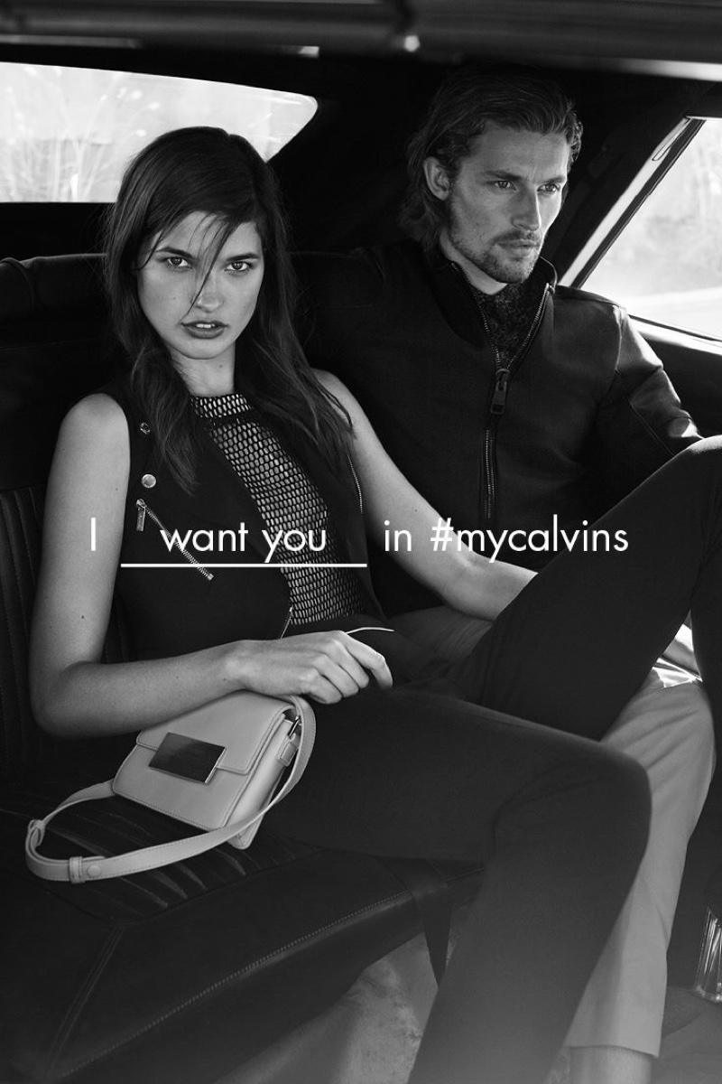 Calvin Klein White Label Campaign Spring/Summer 2016