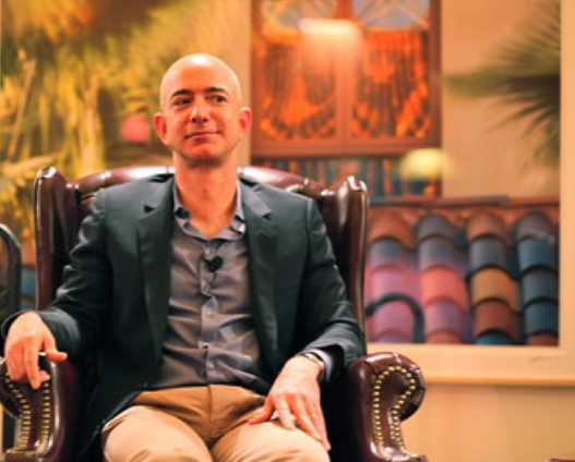 Jeff Bezos Wealthiest person on Earth
