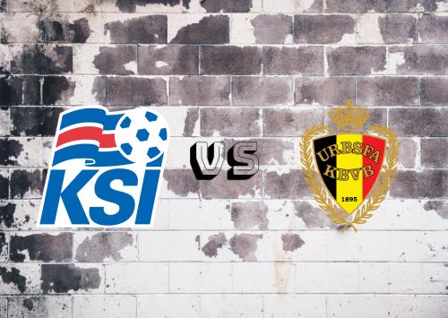 Islandia vs Bélgica  Resumen y Partido Completo
