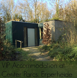 Review of VIP Accommodation at Center Parcs, Erperheide, Belgium