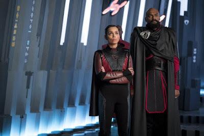 Krypton Season 2 Georgina Campbell Colin Salmon Image 1