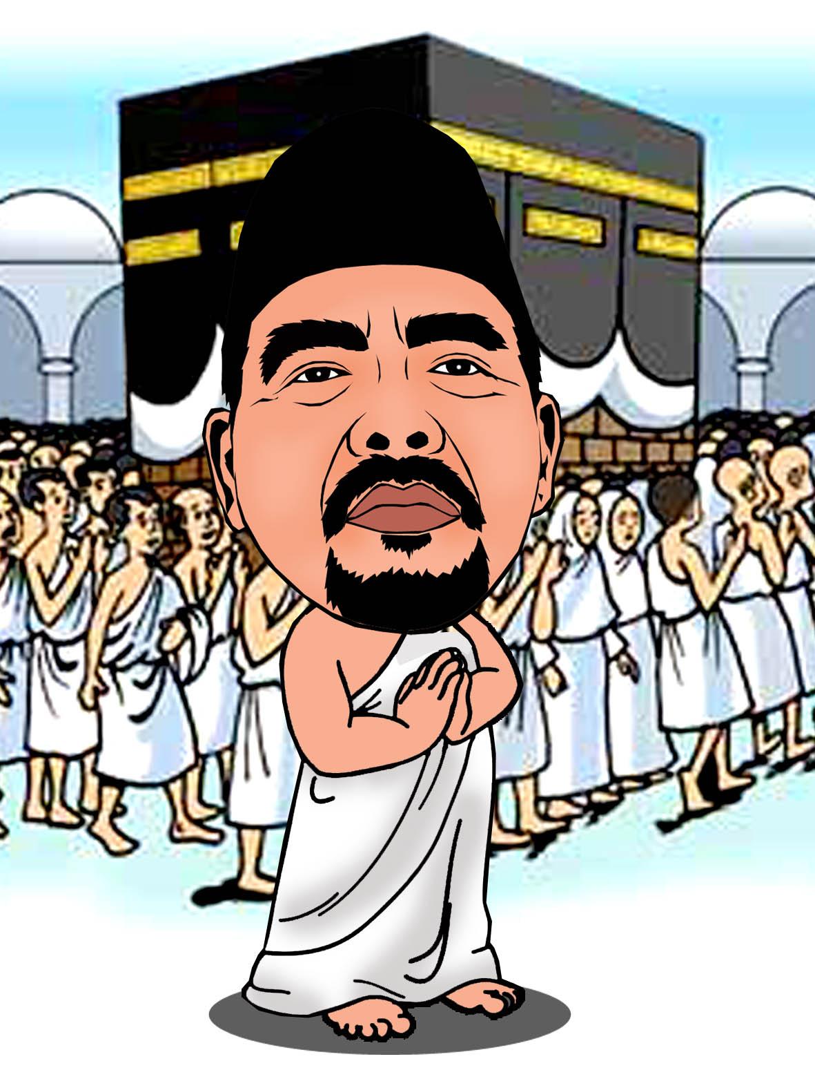 Gambar Pak Haji Animasi Nusagates