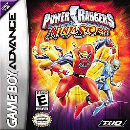 โหลดเกม Power Rangers Ninja Storm .gba