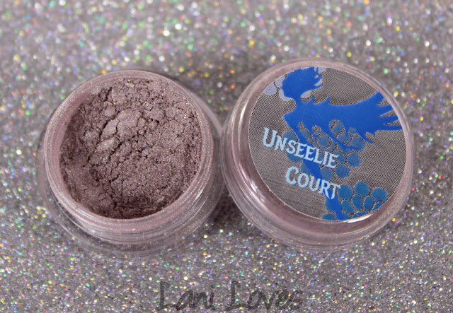 Notoriously Morbid Eyeshadow - Pure Passion Swatches & Review