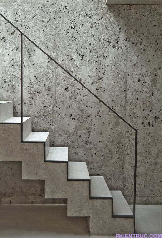 Cầu thang mang tính tối giản