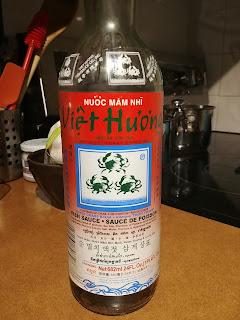 fish sauce  - three crab fish sauce