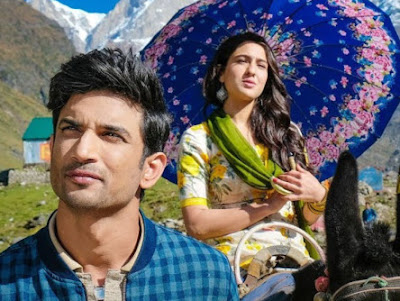 Kedarnath, Kedarnath Movie, Bollywood, Bollywood Movie Kedarnath, Hindi Movie Kedarnath, Poster Filem Kedarnath, Pelakon Utama Filem Hindi Kedarnath, Hero and Heroin Kedarnath Movie, Sushant Singh Rajput, Sara Ali Khan, Review By Miss Banu, Blog Miss Banu Story, Sinopsis Filem Hindi Kedarnath,