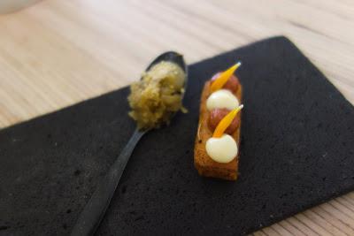 Suite des amuses bouche restaurant Mosuke Paris 14 ème, blog Délices à Paris.
