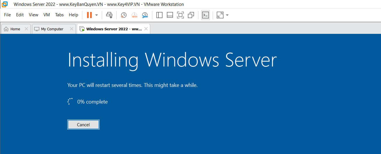 Hướng dẫn hạ Windows Server 2022 Datacenter xuống Standard.