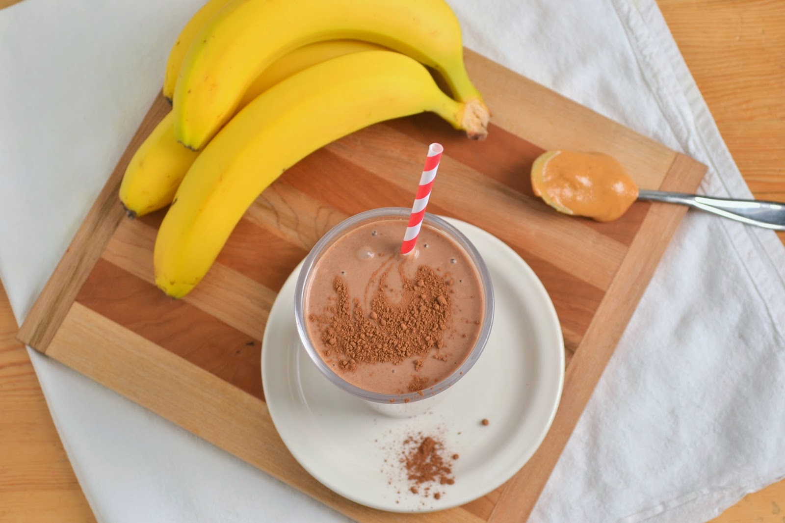 Banana Chocolate Milkshake