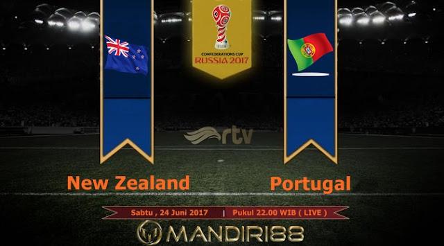 Prediksi Bola : New Zealand Vs Portugal , Sabtu 24 Juni 2017 Pukul 22.00 WIB @ RTV
