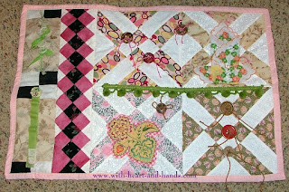 Michele Bilyeu Creates With Heart And Hands Making Fidget Quilts