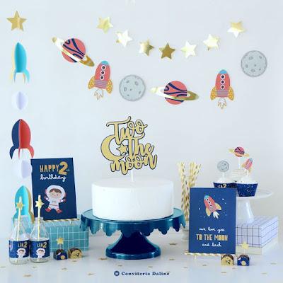 Festa Astronauta - Espaço - Planetas