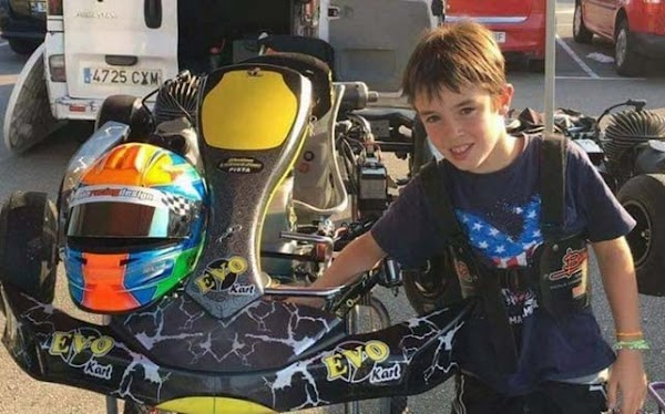 Muere un niño piloto de kart entrenando