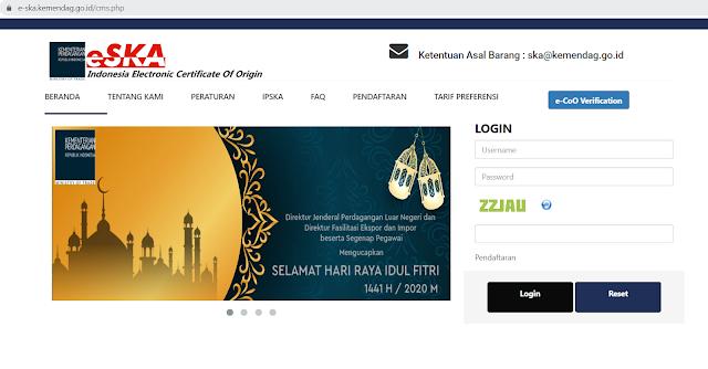 trang tra cứu C/O điện tử Indo
