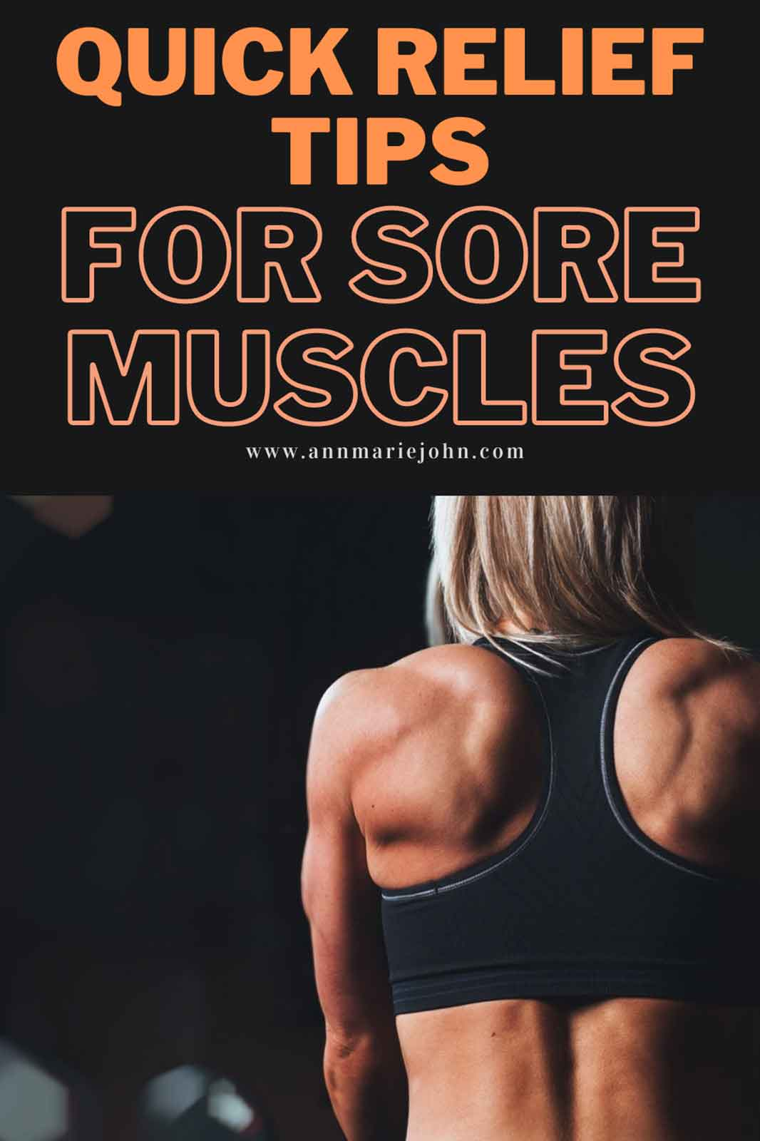 Quick Relief Tips for Sore Muscles After Exercise
