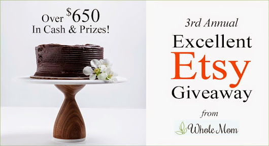 3rd Annual Excellant Etsy Giveaway - Over $650 in Cash & Prizes! | BLOGGIEAWAY