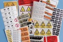 Elektro-Aufkleber, Elektro-Warnzeichen