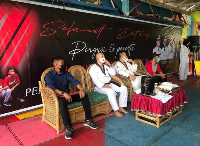 168 Anggota Taekwondo Indonesia Banyuasin Ikuti Kompetisi Kenaikan Sabuk