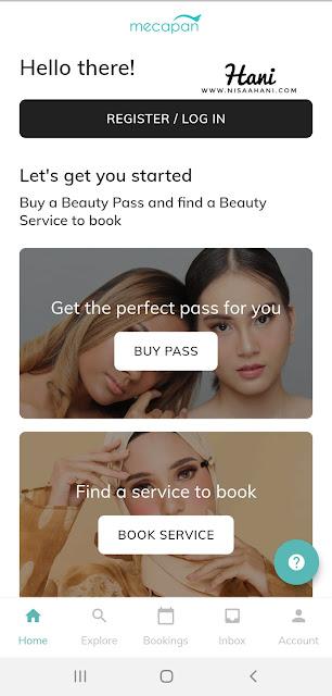 Aplikasi Mecapan Beauty
