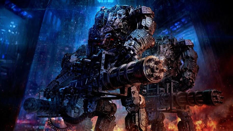 Sci-Fi, Mech, Robots, 4K, #4.1014