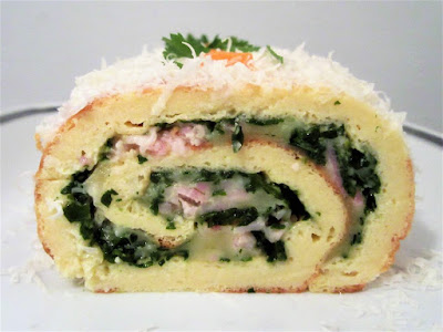 Slani rolat / Roll with spinach