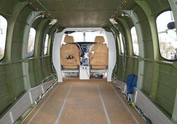 Evektor EV-55 Outback interior