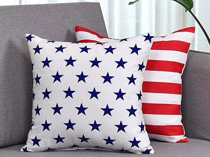 Stars and Stripes Pillows